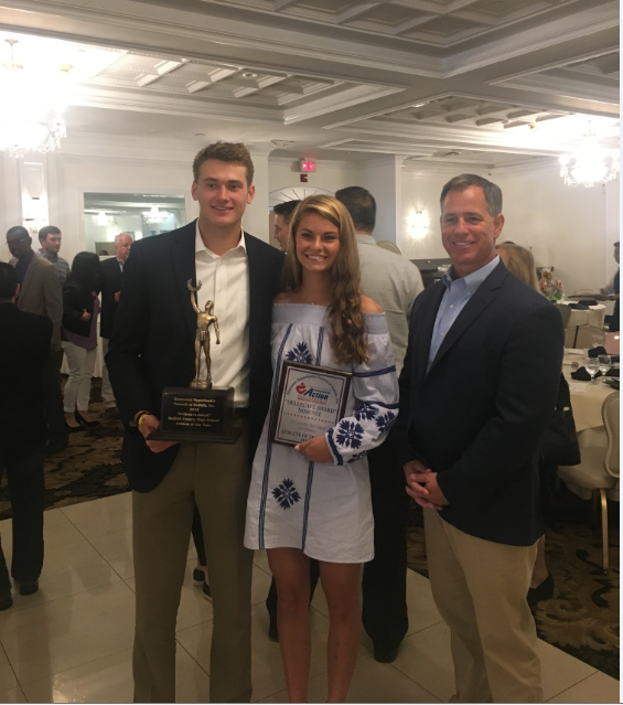 Kate Mulham and Zach Hobbes nominees for the Butch Dellacave Award
