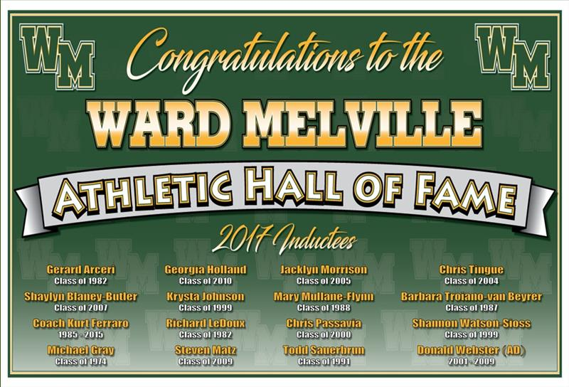 Hall of Fame Induction