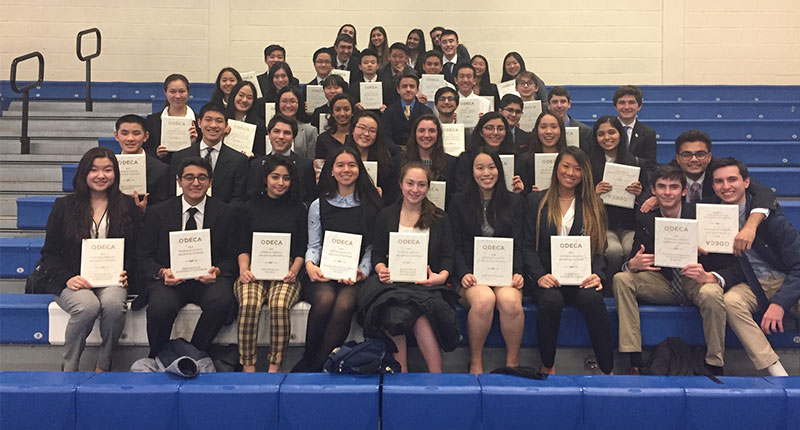 Ward Melville DECA Team Advances