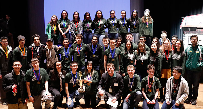 Ward Melville HS Science Olympiad Earns Bid to States