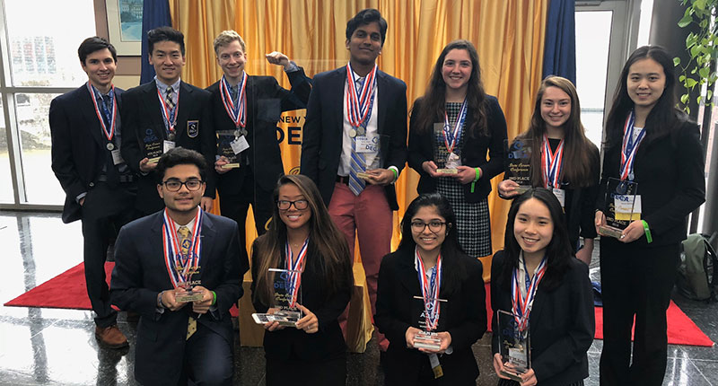 Ward Melville DECA Members Head to Nationals