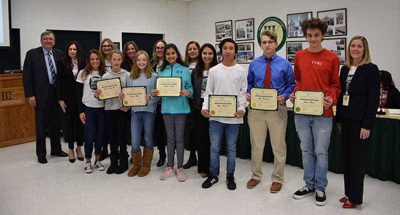 Board Honors Artists