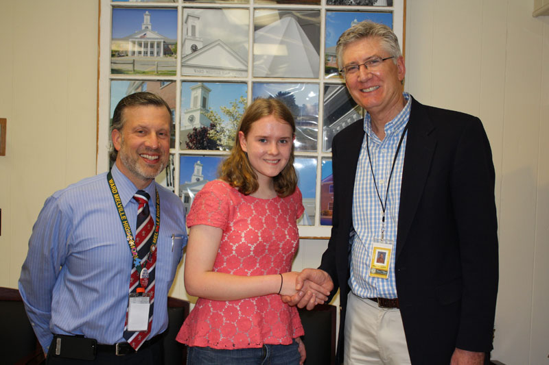"Second-Place Writing Award for Ward Melville Sophomore <span class=""small"">(more)</span>"