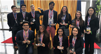 Ward Melville DECA Members Head to Nationals photo