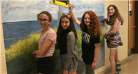 Murals Inspired by Local Artist Photo