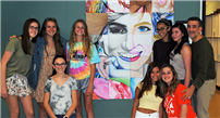 Artistic Expression Displayed on Gelinas Mural photo