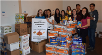 Food Drive Gobbles Up Donations photo
