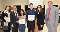 Board Honors Student Scientists photo