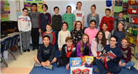 Minnesauke Sixth-Graders' Gift to Furry Friends photo