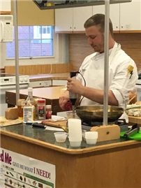 Culinary Demonstration Leads to Collegiate Overview photo 2