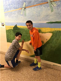 Murals Inspired by Local Artist Photo 3